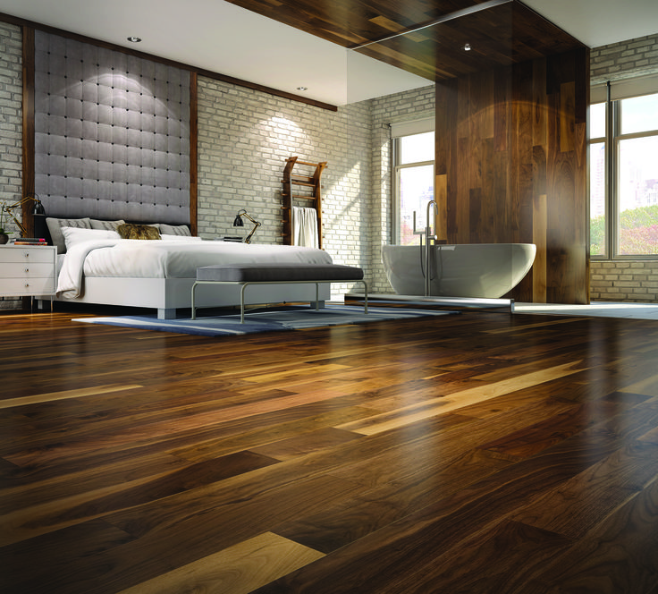 Perfect decor for a good relaxing weekend with a Essencia Oval 7236  therapeutic Photo: American Walnut floors, natural by Mercier - Mercier  Wood Flooring - 22 Best Images About Mercier Wood Flooring On Pinterest Ash