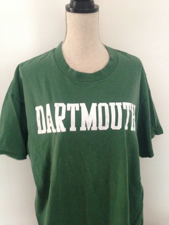 Vintage Dartmouth College Tshirt early 90s by 21Vintage on Etsy