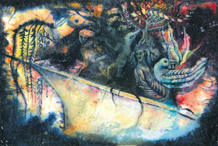 The enigmatic paintings of Christine Sefolosha, in RV 66.