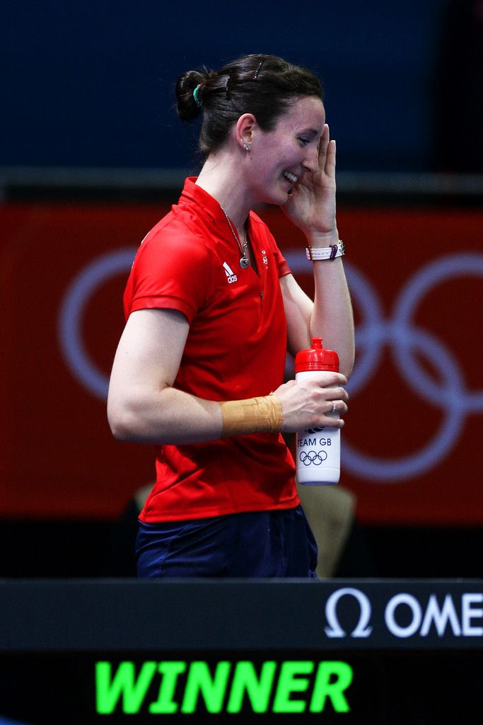 Day 1:  Table Tennis - Women's Singles - Joanna Parker of Great Britain