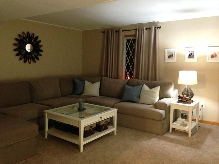 Brown Living Room Carpet Ideas