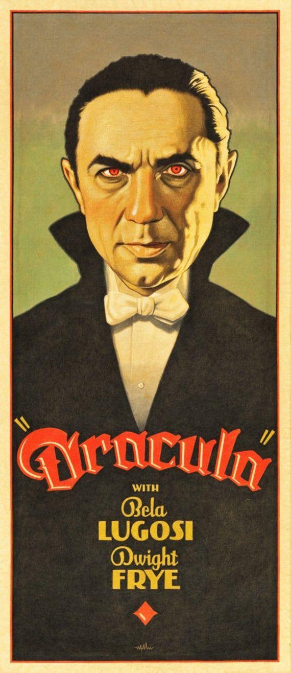 Dracula Bela Lugosi Repro Film POSTER
