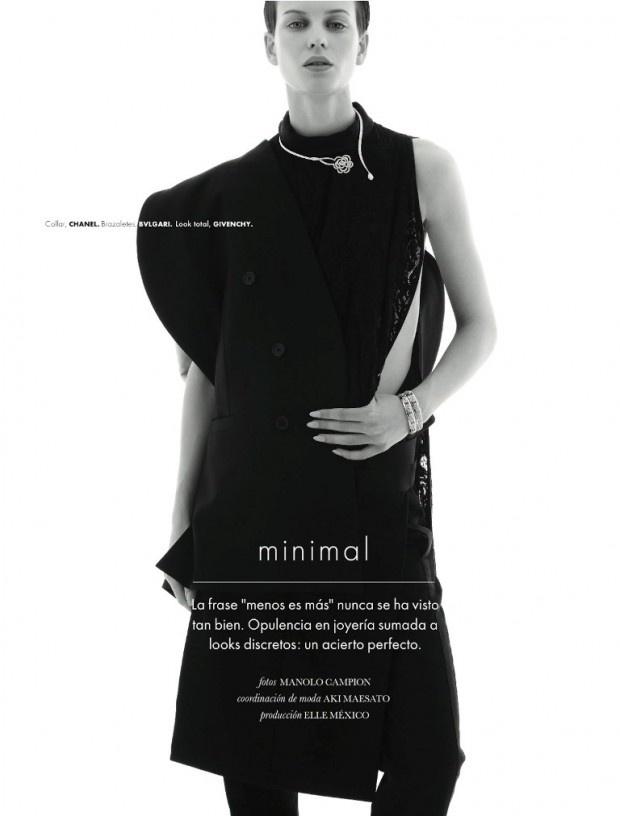 ELLE 137 Moda joyas 620x816 Elle México | Editorial de Moda Maio 2013 | Ellinore Erichsen por Manolo Campion