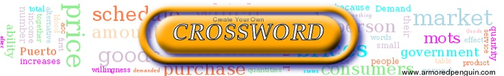 VOCABULARY: Crossword puzzles are a fun way to learn new vocabulary. Generate a crossword puzzle for free on this website using your own list of vocabulary words.