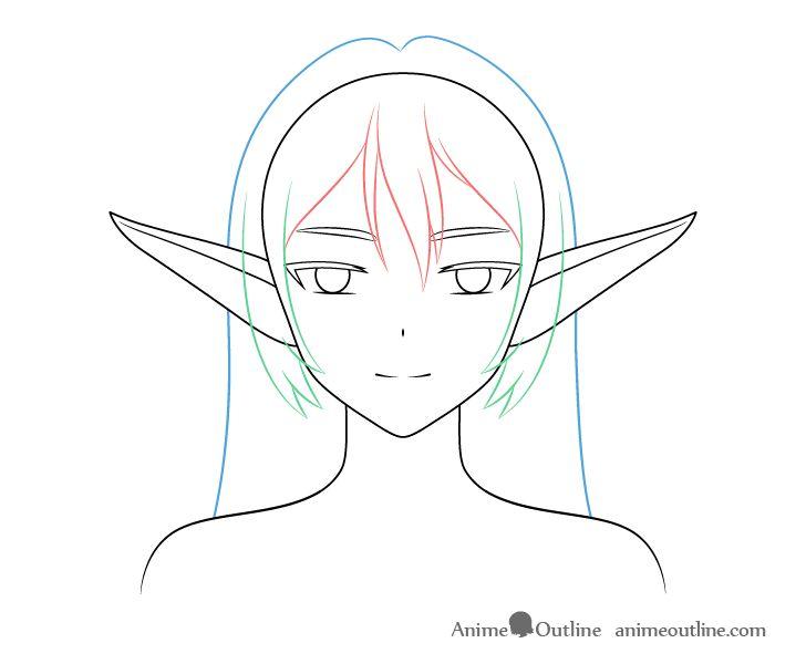 Elf Girl Base