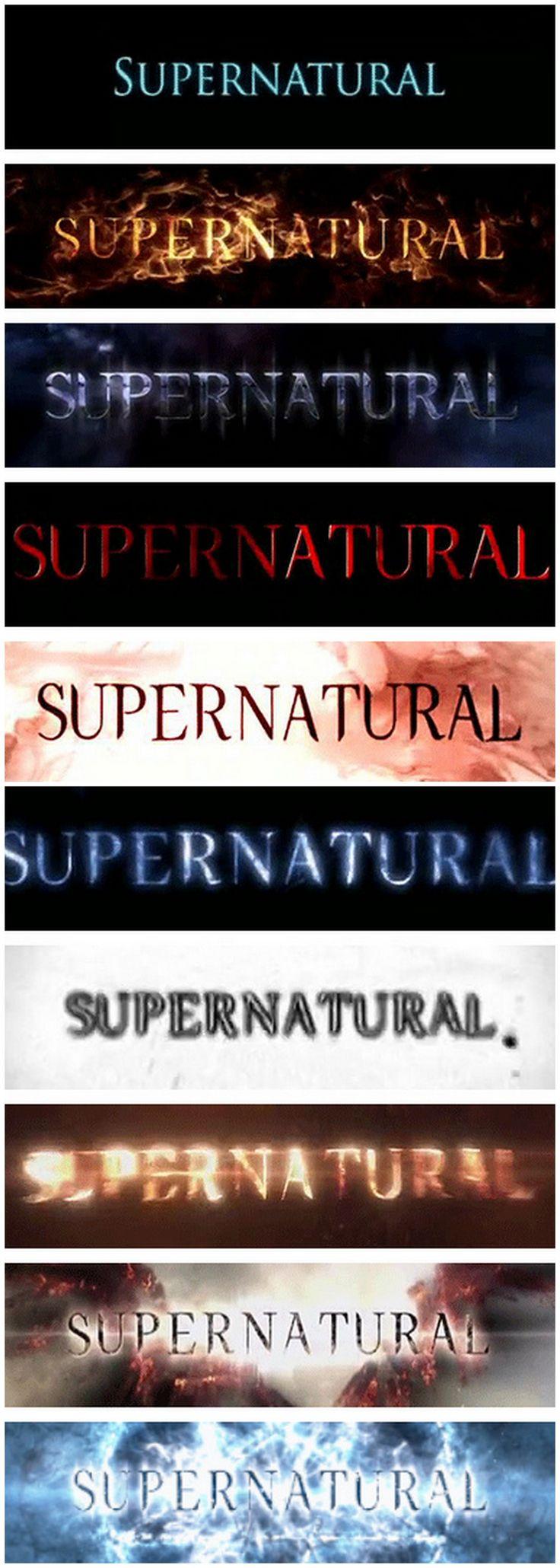 17 best ideas about supernatural tattoo on pinterest - Supernatural season 8 title card ...
