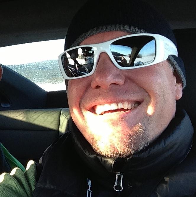 Driving a Porsche C4S Ivalo Finland Camp 4S