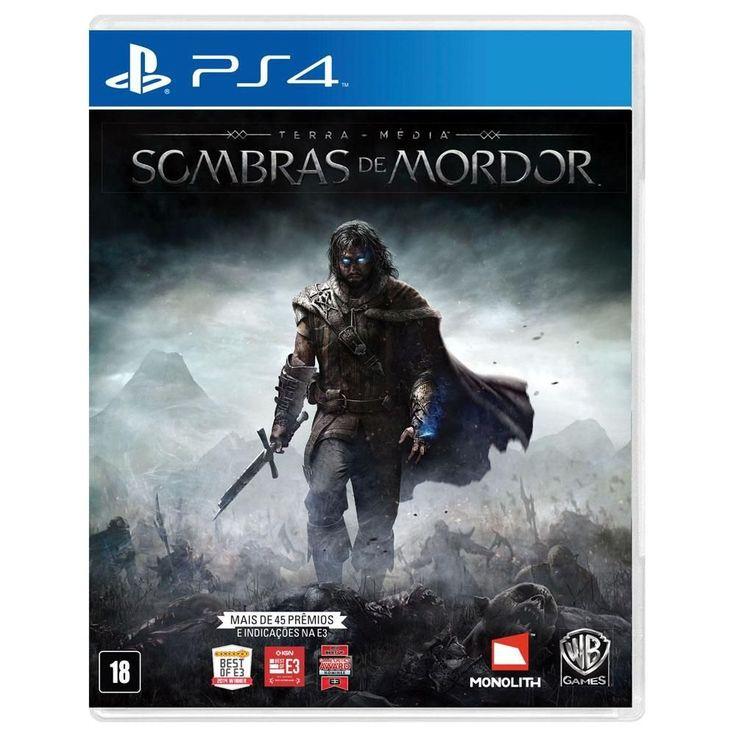 Game - Terra-Média: Sombras de Mordor - PS4