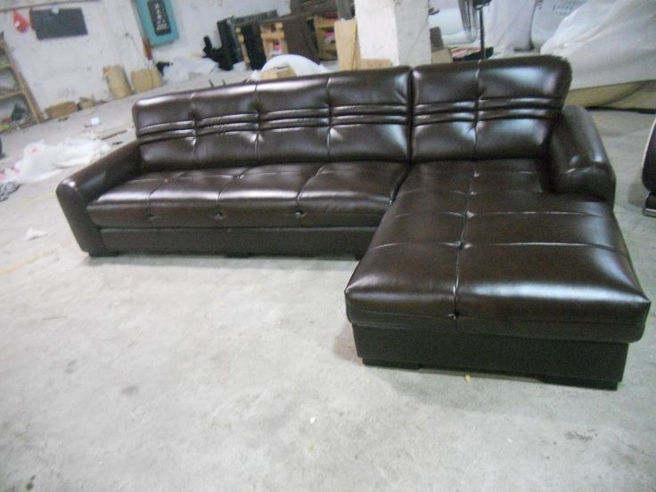 895.00$  Watch now - http://aliava.worldwells.pw/go.php?t=32448514700 - 2015 European Modern Design Small L Shaped Genuine Leather corner sofas For Living Room Bed Room couch sofa 9010 895.00$