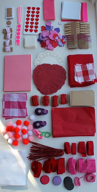 DIY Valentine Kits by most lovely things, via Flickr