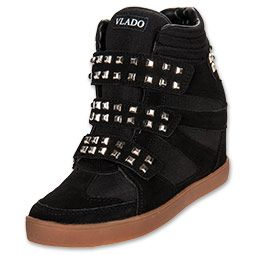Vlado Women's Casual Shoes Rebel Athletic Black/Studs