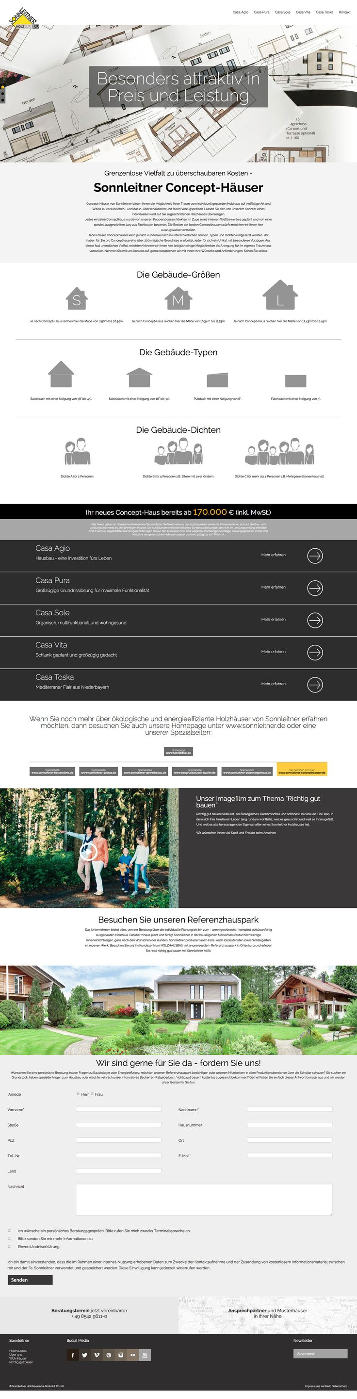 Superb  sonnleitner holzbau holzhaus holz wood web online website