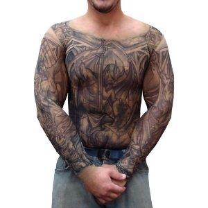 real heart tattoo sleeve