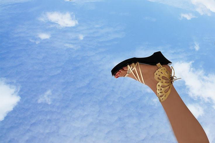 High heels shoes that let you interchange the upper design. STEP UP YOUR FASHION CHOICE!