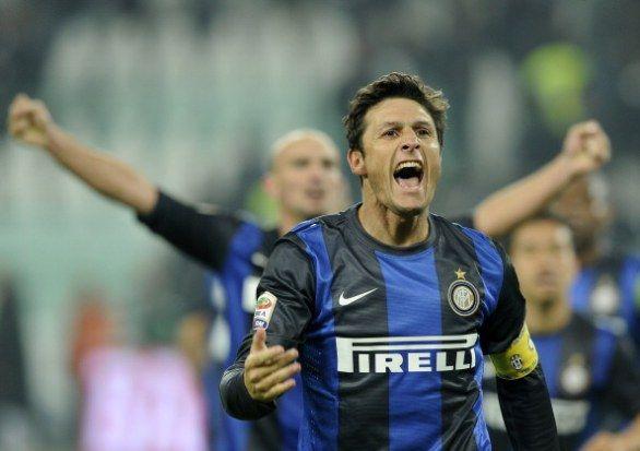 Il capitano, Javier Zanetti!