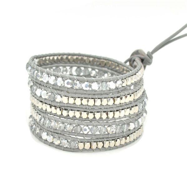 bracelet tendance multitours  #braceletmanchette
