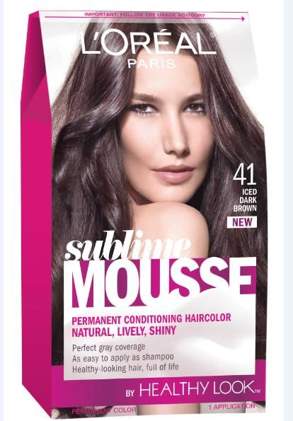 EASY-TO-APPLY HAIR COLOR: Review: L'Oreal Paris Sublime Mousse Healthy Look Haircolor #bstat