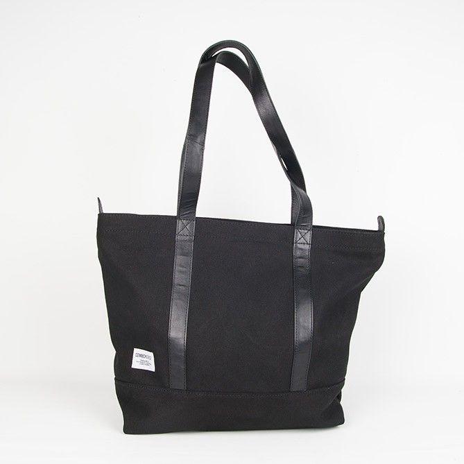 Robin / Tote zipper. black