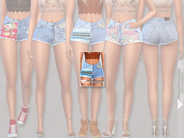Pinkzombiecupcakes' Summer Denim Shorts