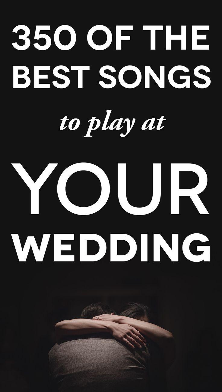 wedding music playlist