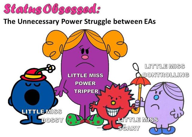 On the Blog: Status Obsessed: The unnecessary power struggle between EAs  Do you sometimes feel like you are surrounded by other assistants that are status obsessed? We've all worked with these type of EA's before, injected with a bit of power because of their position and the Executive they support, they're more interested in hierarchy more than anything else......read on  AND CHECK IT OUT ON THE ALL NEW WHO'S THE REAL BOSS WEBSITE!!!!!
