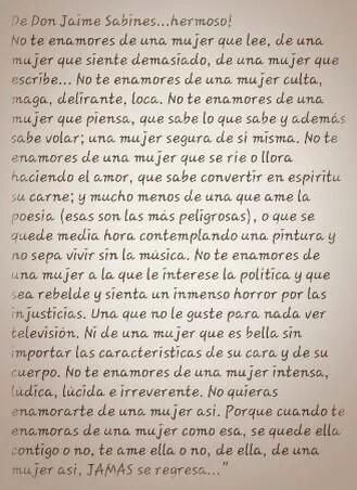 Error no es de Jaime Sabines... Poema de Martha Rivera Garrido, poeta Dominicana.