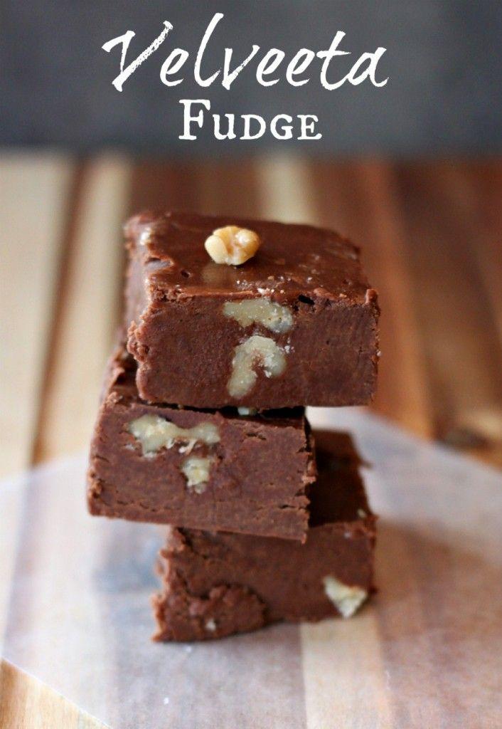 ... Velveeta Fudge on Pinterest   Velveeta, Easy Chocolate Fudge and Fudge