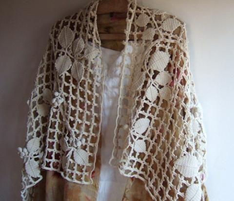 crochet lace~ freeform