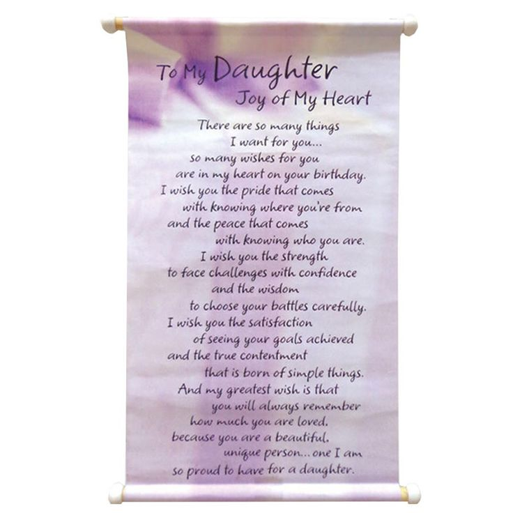 To My Daughter- Joy Of My Heart