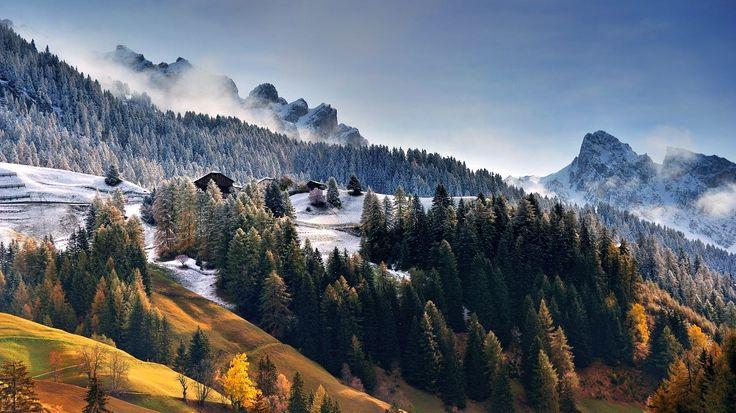DOLOMITES - first snow by TOMÁŠ MORKES on 500px