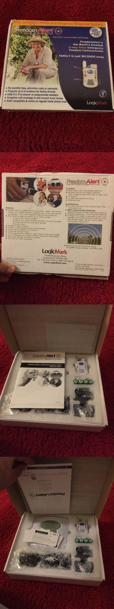 Emergency Alert Systems: Logicmark Freedom Alert Emergency Alert System - No Activation Or Mthly Fees -> BUY IT NOW ONLY: $155 on eBay!