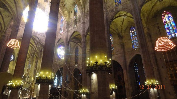 Inside Palma Cathedral — At Mallorca Tour Guides S.L. Http://bit.ly/WBSwE2