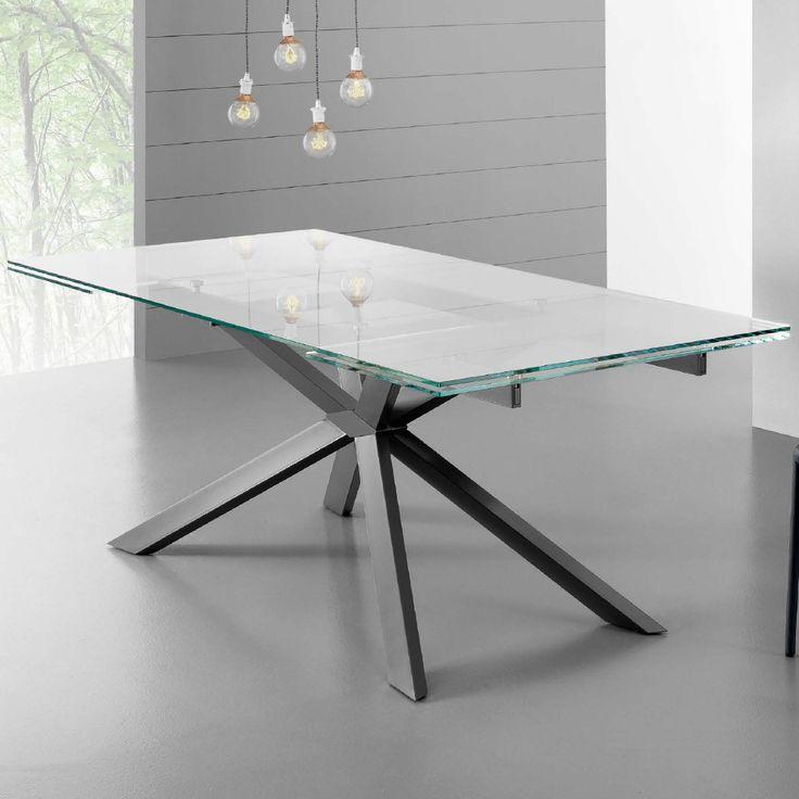 Oltre 25 fantastiche idee su tavoli di vetro su pinterest - Tavoli in vetro e legno ...