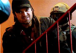 I'm not killing anyone. See? It's just a metal arm crashing into his head. He's wearing a helmet Steve calm down!>>>
