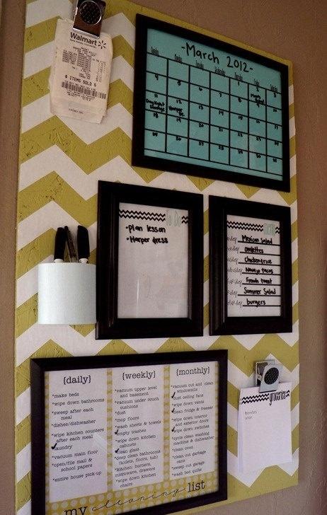 Custom Menu / Calendar / Grocery List / by dandylittledove on Etsy, $25.00