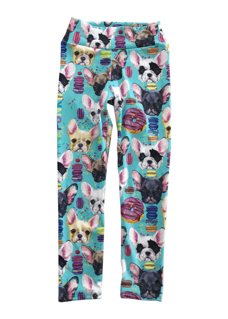 Mini Punk Puppy Party Long Tights
