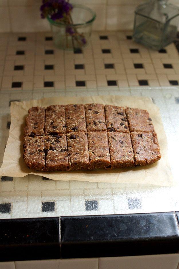 Homemade Coconut Chocolate Chip Larabars