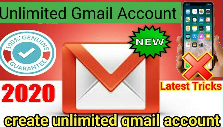 How create unlimited gmail account in 2020 accounting
