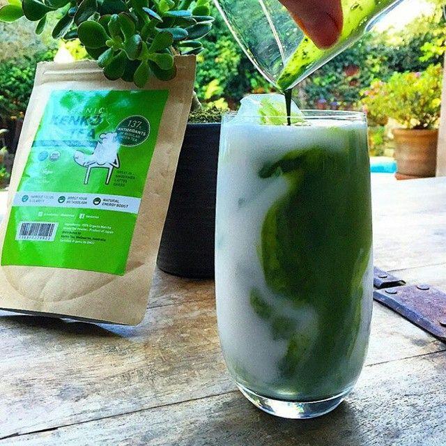Green tea powder australia