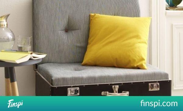 Zelf een zetel maken met een vintage koffer