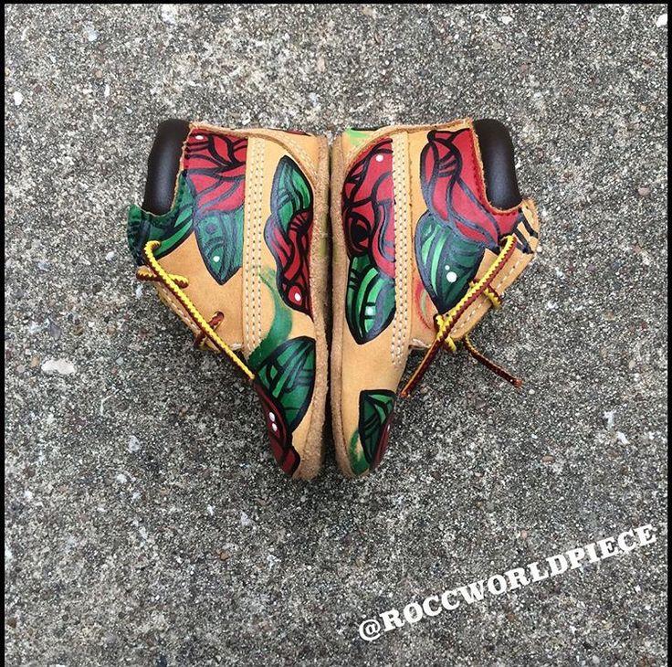 Custom Infant Timberland Boots. Pinterest: @TiiffanyMariia ♛