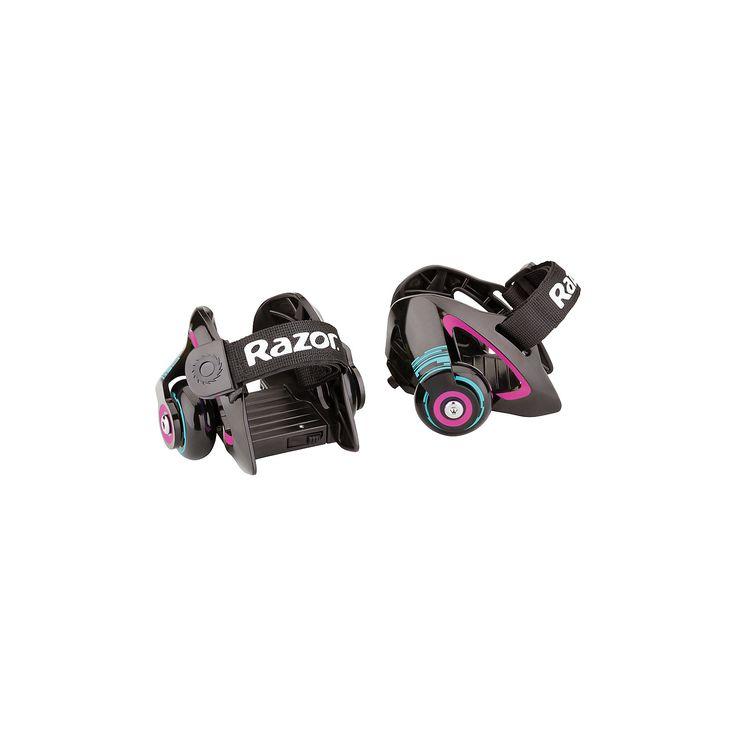 Ролики на обувь Jetts, пурпурный, RazorМечтали о лёгких прочных компактных роликах? Теперь это реальность! Всё благодаря роликам Razor Jetts!