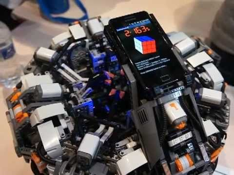 The Lego Mindstorms CubeStormer 2 - It used to be the World Record Rubik's Cube Solver. It has recently been defeated by its successor, Cubestormer 3. (VIDEO)