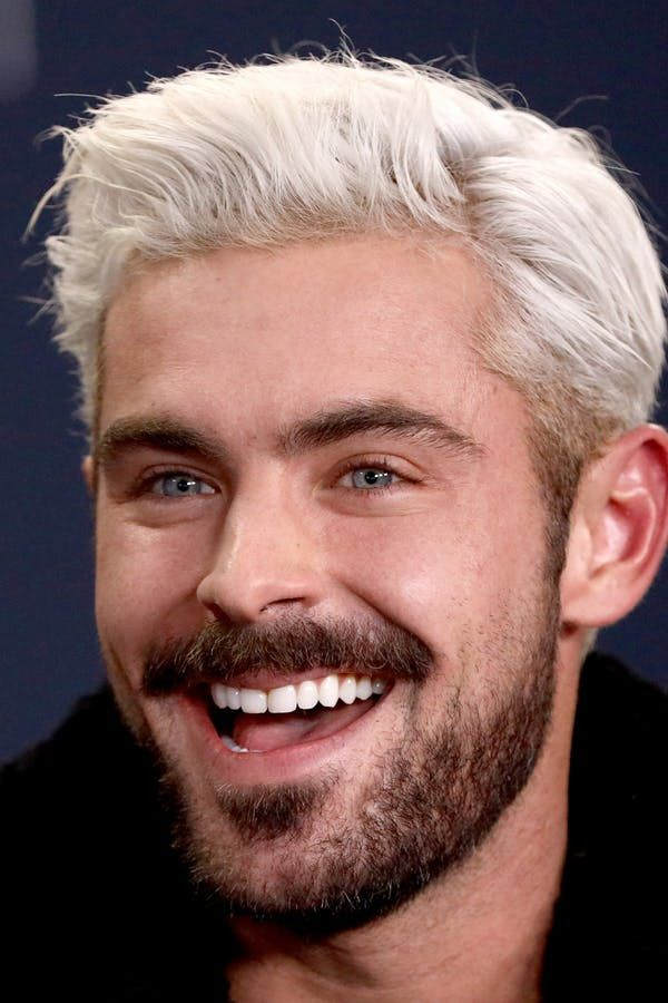 Zac Efron Just Officially Debuted A Shocking New Hair Color And No