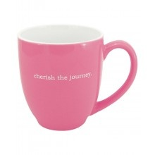 Inspirational Bistro Mug- Cherish the JourneyHolding 16, Bistros Styl, Perfect Gift, Gift Ideas, Art, Microwave, Journey, Inspiration Bistros, Messages