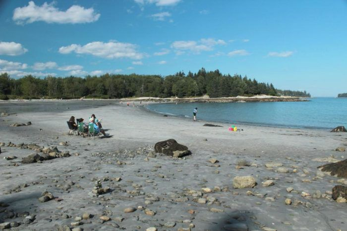 The Hidden Beaches Road Trip That Will Show You Maine Like Never Before. Stop #3: Birch Point State Park Beach, Owls Head