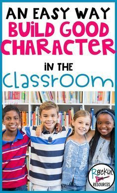 This post provides a list of character traits and their meanings. It also gives you ideas for building good character in the classroom! Classroom community is important and these ideas will help your students want to be kind and become good citizens!