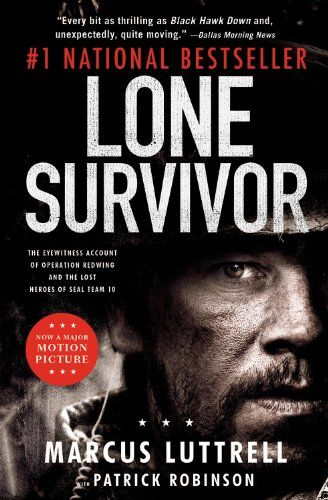 Lone Survivor (2013) The true story of Seal Team 10, which was ambushed in Afghanistan, and struggled for days to survive. Only one man survived.  I had to remind myself that this is a TRUE story and not fiction. Marcus Luttrell and his team set out on a mission to capture or kill notorious Taliban leader Ahmad Shah, in late June 2005. Marcus and his team are left to fight for their lives.  Mark Wahlberg, Taylor Kitsch, Emile Hirsch...2a