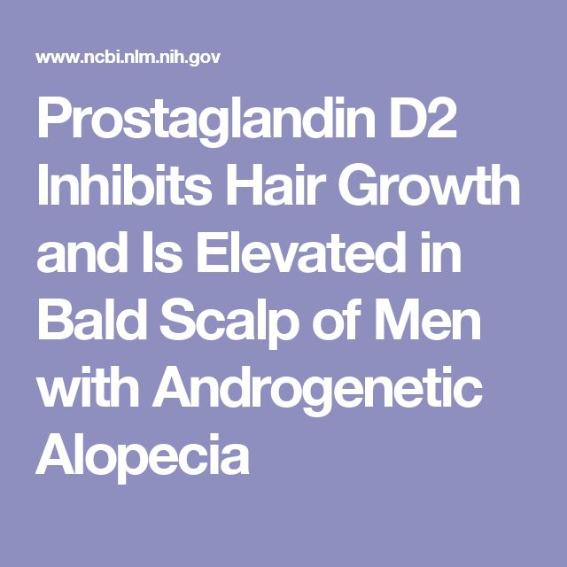Prostaglandin D2 Inhibits Hair Growth and Is Elevated in Bald Scalp of Men with Androgenetic Alopecia