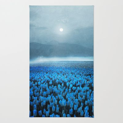 magical Tulips Rug by Viviana Gonzalez - $28.00